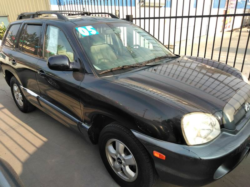 2005 Hyundai Santa Fe For Sale At Affordable Auto Finance In Modesto CA