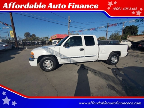 Sierra Auto Finance >> Gmc Sierra 1500 For Sale In Modesto Ca Affordable Auto