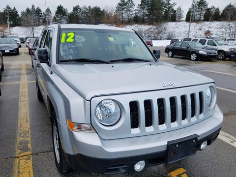 2012 Jeep Patriot for sale in Laconia, NH