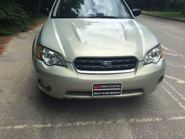 2006 Subaru Outback AWD 2.5i 4dr Wagon w/Automatic - Bath ME
