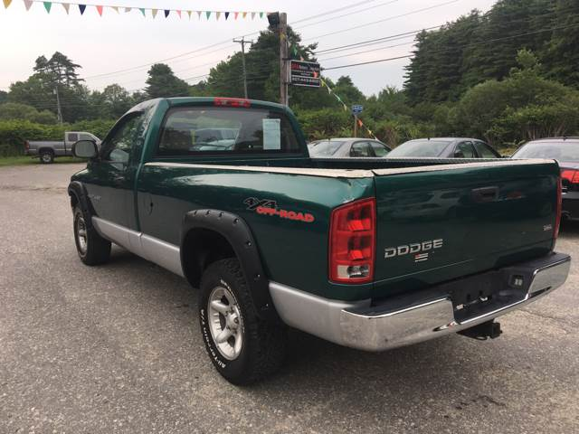 2004 Dodge Ram Pickup 1500 2dr Regular Cab SLT 4WD LB - Bath ME