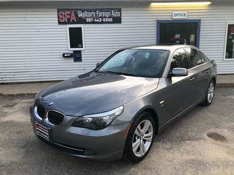 2009 BMW 5 Series for sale in Bath, ME