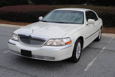 2003 Lincoln Town Car for sale in Alpharetta GA