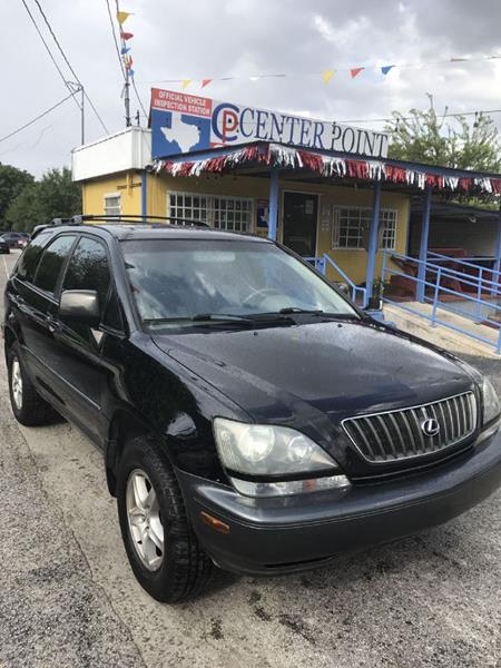 2000 Lexus RX 300 For Sale At Centerpoint Motor Cars In San Antonio TX