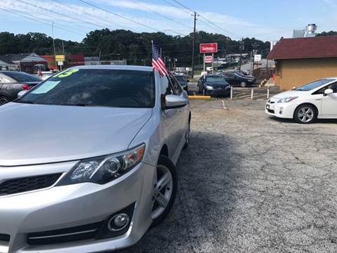 2013 Toyota Camry for sale in Decatur, GA