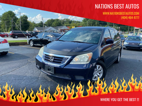 2008 Honda Odyssey for sale at Nations Best Autos in Decatur GA