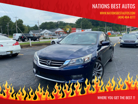 2013 Honda Accord for sale at Nations Best Autos in Decatur GA
