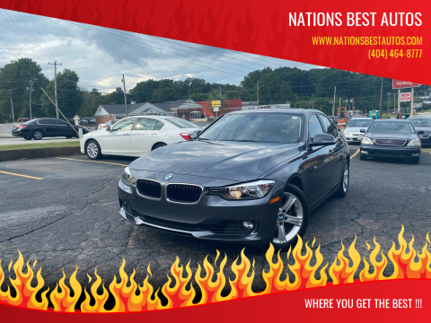 2015 BMW 3 Series for sale at Nations Best Autos in Decatur GA