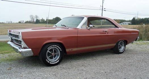 1967 ford fairlane in bellefontaine oh. Black Bedroom Furniture Sets. Home Design Ideas