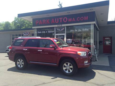 2011 Toyota 4Runner for sale at Park Auto LLC in Palmer MA