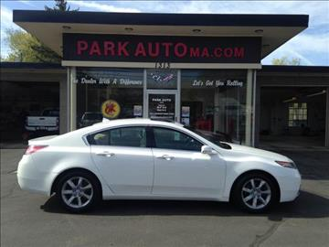 2012 Acura TL for sale at Park Auto LLC in Palmer MA