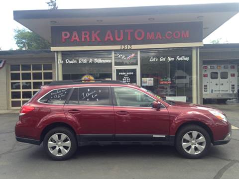 2011 Subaru Outback for sale at Park Auto LLC in Palmer MA