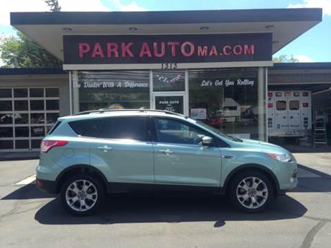 2013 Ford Escape for sale at Park Auto LLC in Palmer MA