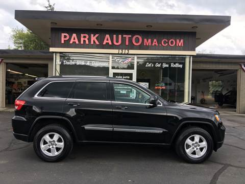 2012 Jeep Grand Cherokee for sale at Park Auto LLC in Palmer MA