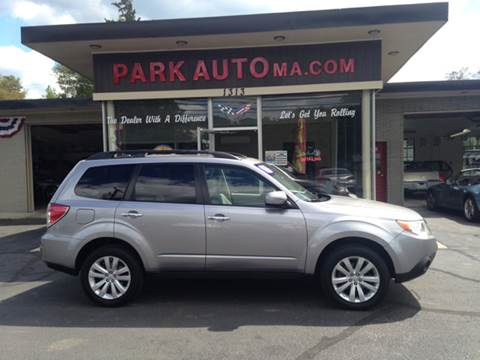 2011 Subaru Forester for sale at Park Auto LLC in Palmer MA