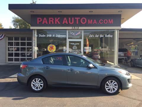 2012 Mazda MAZDA3 for sale at Park Auto LLC in Palmer MA