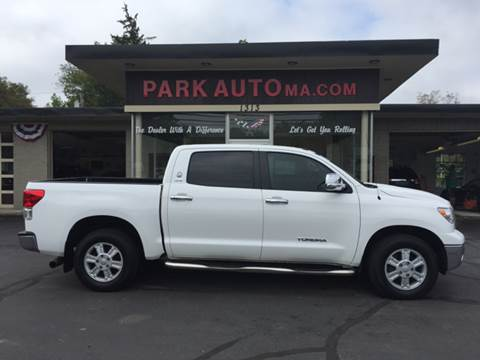 2012 Toyota Tundra for sale at Park Auto LLC in Palmer MA