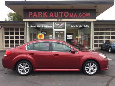 2014 Subaru Legacy for sale at Park Auto LLC in Palmer MA