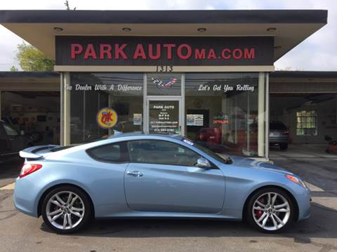 2012 Hyundai Genesis Coupe for sale at Park Auto LLC in Palmer MA