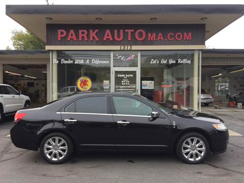 2012 Lincoln MKZ for sale at Park Auto LLC in Palmer MA