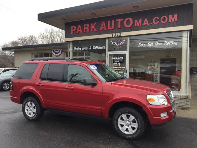 2010 ford explorer xlt in palmer ma - park auto llc
