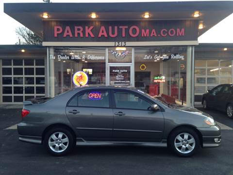 2008 Toyota Corolla for sale at Park Auto LLC in Palmer MA
