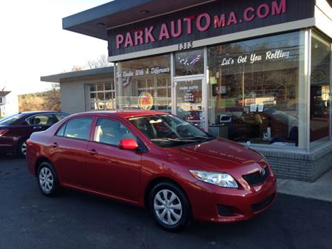 2009 Toyota Corolla for sale at Park Auto LLC in Palmer MA