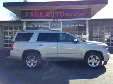 2015 Chevrolet Tahoe for sale at Park Auto LLC in Palmer MA