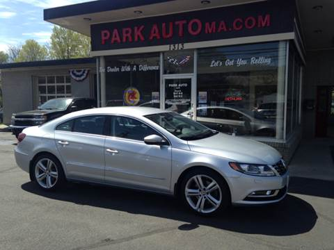 2013 Volkswagen CC for sale at Park Auto LLC in Palmer MA