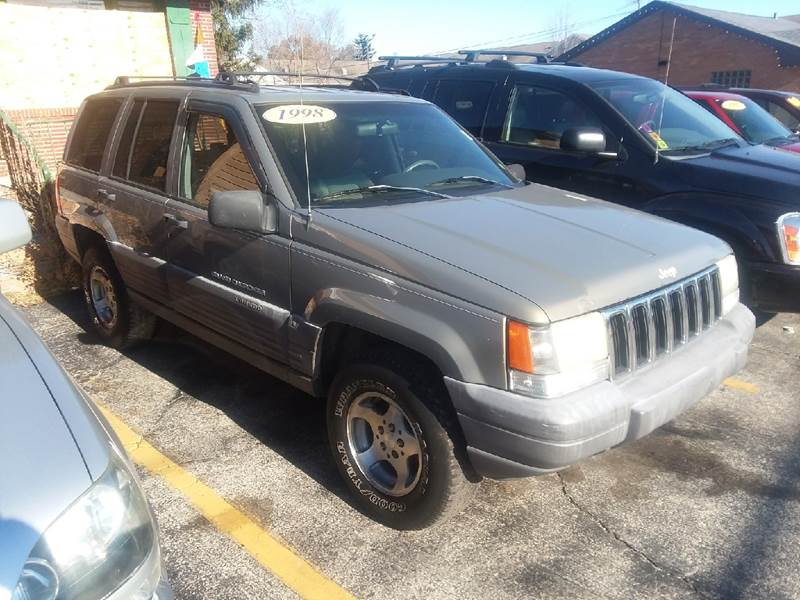1998 Jeep Grand Cherokee For Sale At JNP AUTO SALES In Oakbrook Terrace IL
