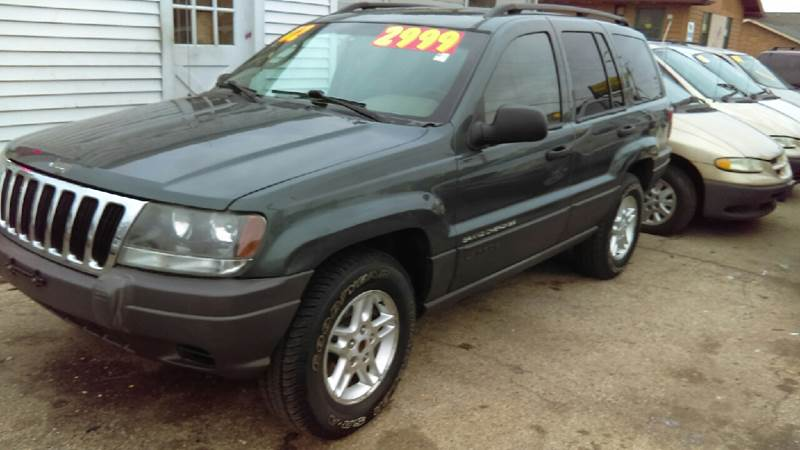 Attractive 2002 Jeep Grand Cherokee Laredo