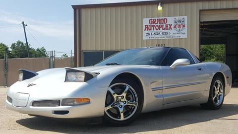 2001 Chevrolet Corvette for sale in La Porte, TX