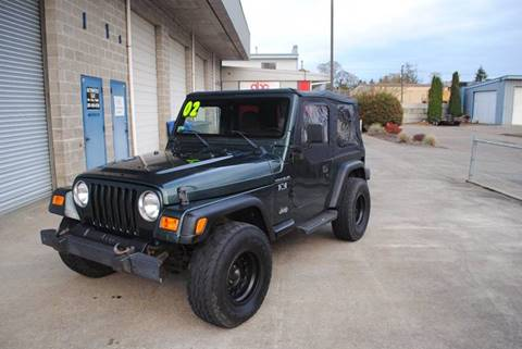 2002 Jeep Wrangler for sale in Aumsville, OR
