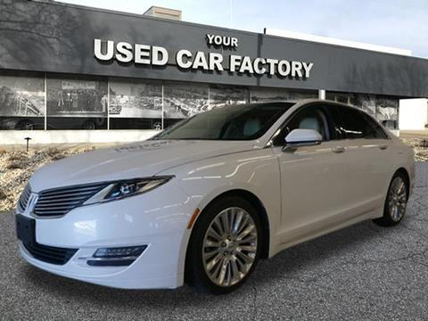 2013 Lincoln MKZ for sale at JOELSCARZ.COM in Flushing MI