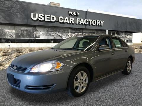 2009 Chevrolet Impala for sale at JOELSCARZ.COM in Flushing MI