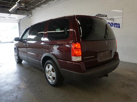 2008 Pontiac Montana SV6 for sale in Flushing, MI