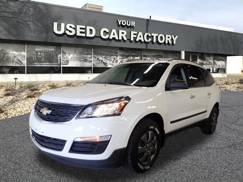 2014 Chevrolet Traverse for sale at JOELSCARZ.COM in Flushing MI