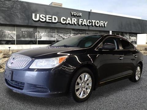 2011 Buick LaCrosse for sale at JOELSCARZ.COM in Flushing MI