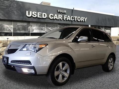 2010 Acura MDX for sale at JOELSCARZ.COM in Flushing MI