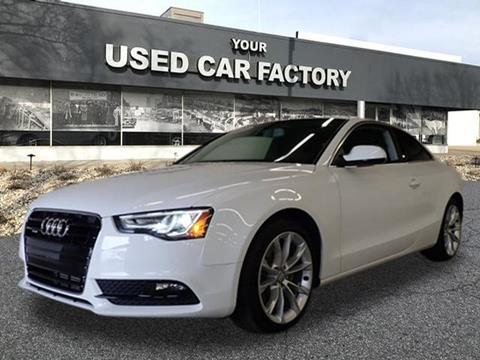 2013 Audi A5 for sale at JOELSCARZ.COM in Flushing MI