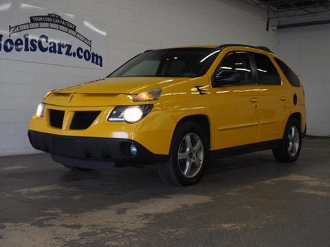 2003 Pontiac Aztek for sale in Flushing, MI