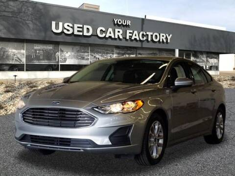 2020 Ford Fusion for sale at JOELSCARZ.COM in Flushing MI