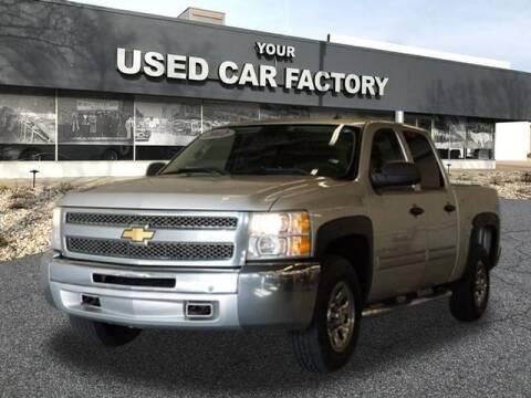 2012 Chevrolet Silverado 1500 for sale at JOELSCARZ.COM in Flushing MI