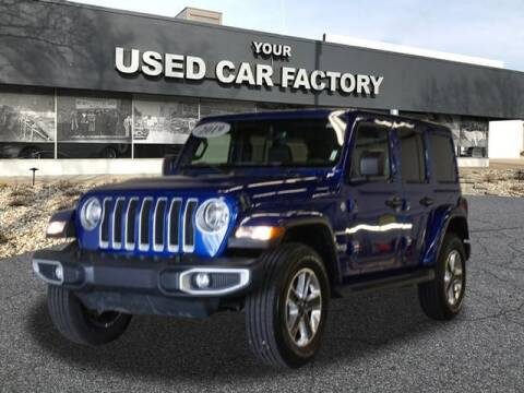 2019 Jeep Wrangler Unlimited for sale at JOELSCARZ.COM in Flushing MI