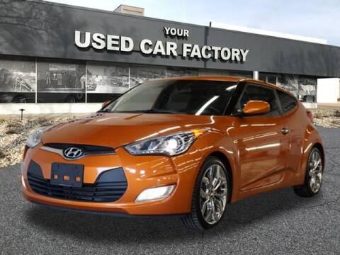 2015 Hyundai Veloster for sale at JOELSCARZ.COM in Flushing MI