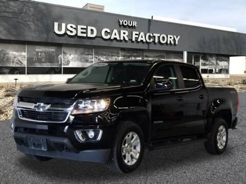 2018 Chevrolet Colorado for sale at JOELSCARZ.COM in Flushing MI