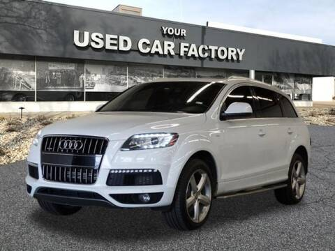 2013 Audi Q7 for sale at JOELSCARZ.COM in Flushing MI