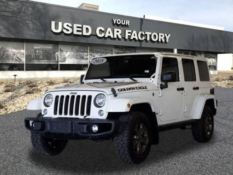 2018 Jeep Wrangler JK Unlimited for sale at JOELSCARZ.COM in Flushing MI