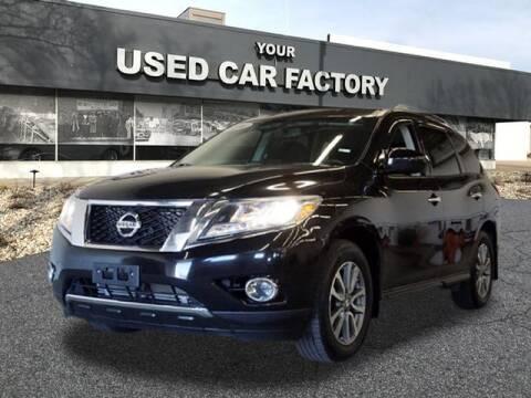 2016 Nissan Pathfinder for sale at JOELSCARZ.COM in Flushing MI