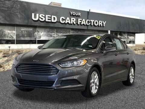 2013 Ford Fusion for sale at JOELSCARZ.COM in Flushing MI